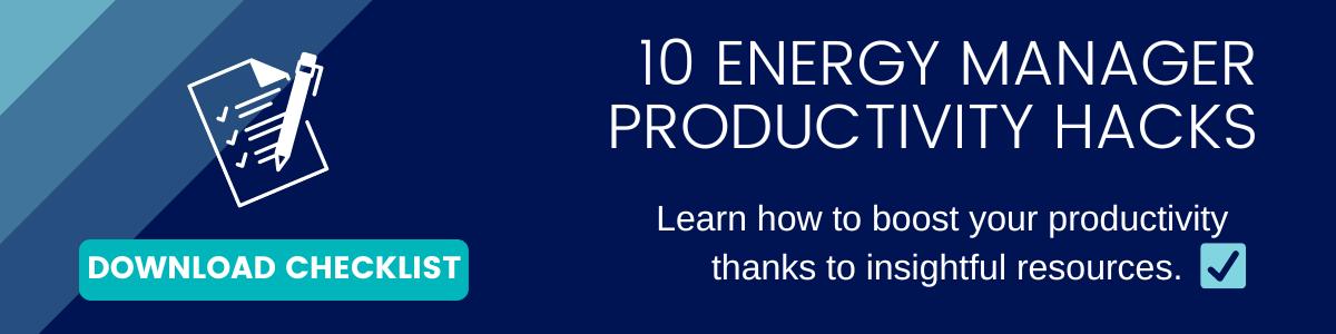 10 Energy Manager Productivity Hacks