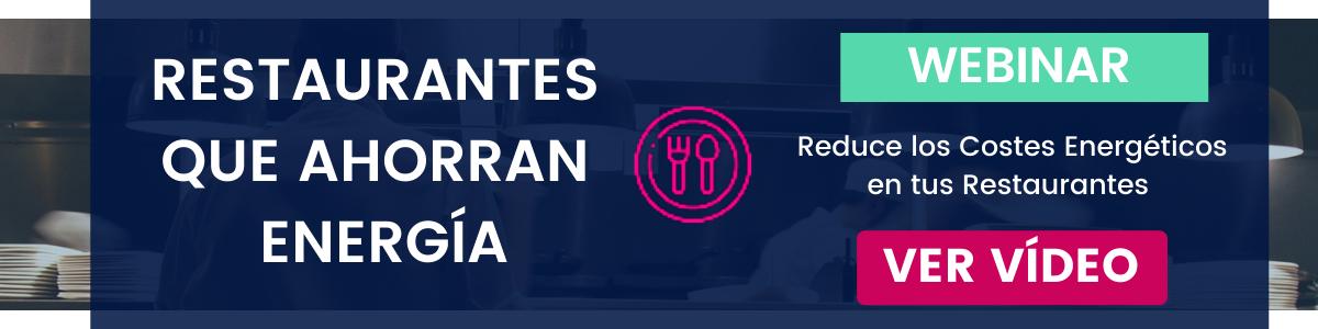 ¡Reserva tu plaza gratis! Restaurantes que ahorran energía