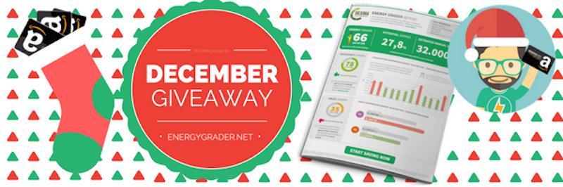 Energy Grader giveaway
