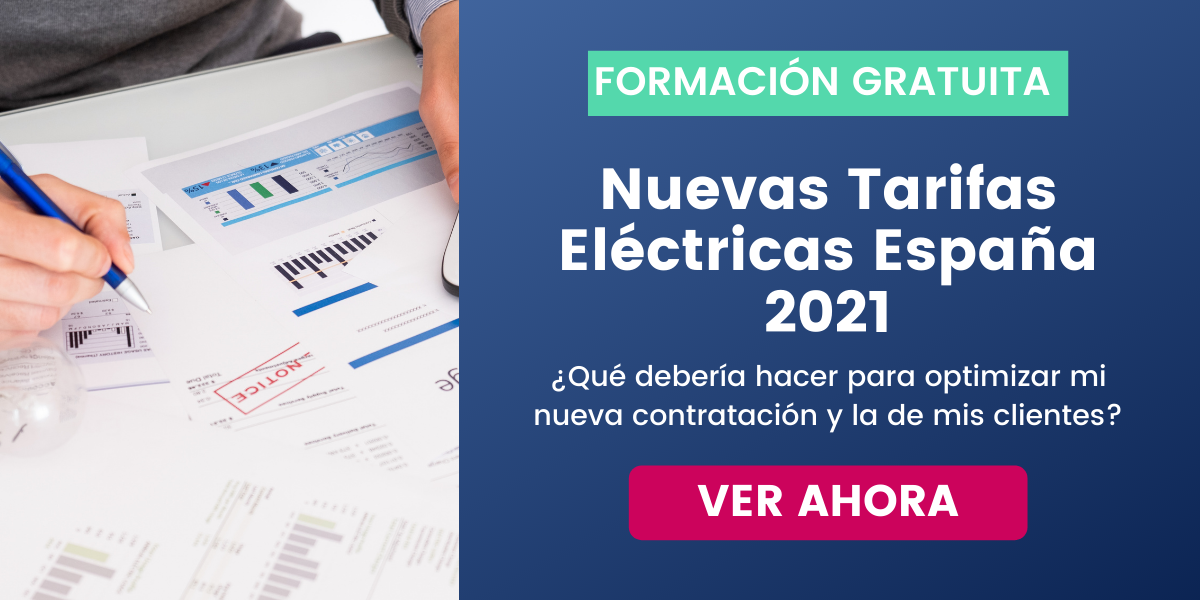 Cambios tarifarios electricidad España 2021