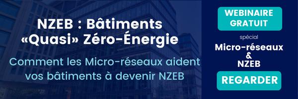 Les Bâtiments à Zéro Énergie (NZEB) [Webinar]