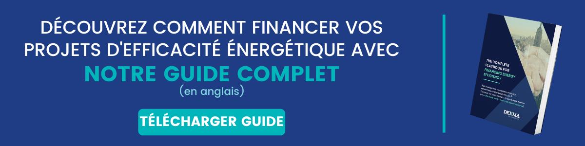 Financez vos projets d'efficacité énergétiques