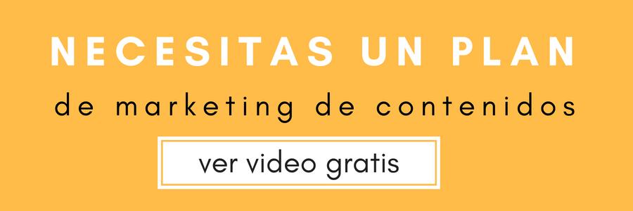 Cómo diseñar un plan de marketing de contenidos