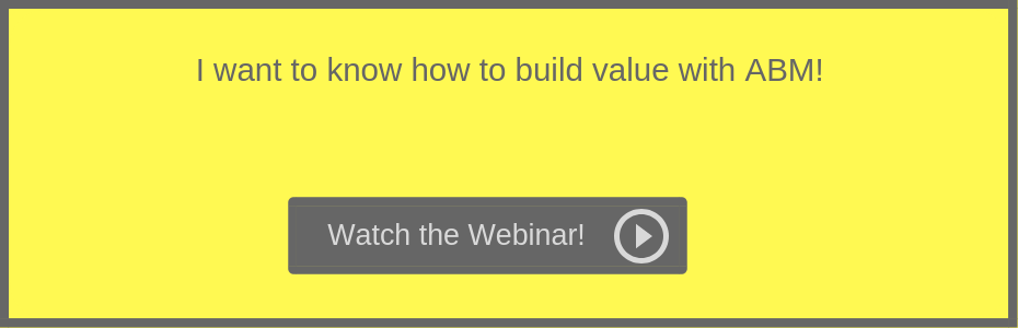How to build value with ABM