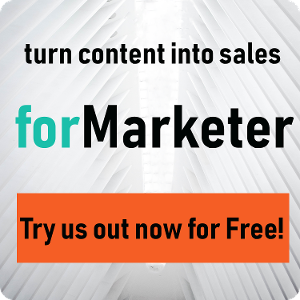 Turn Content into Sales