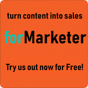 Turn Content into Sales-forMarketer