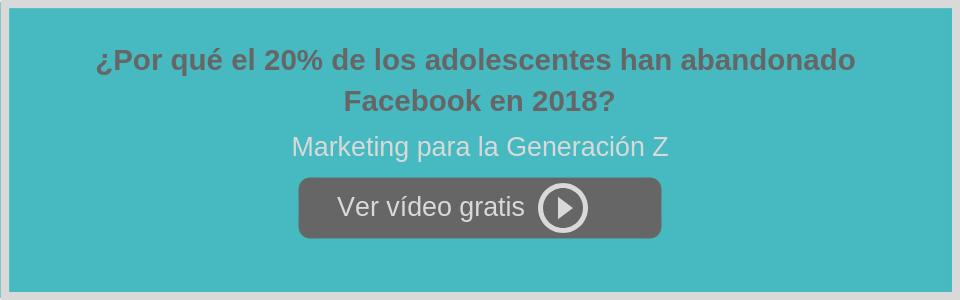¿Por qué el 20% de los adolescentes han abandonado Facebook en 2018?