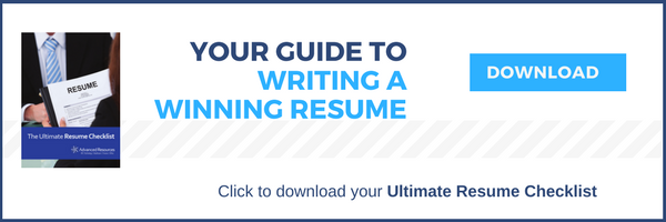 Guide to Writing A Winning Resume Advanced Resources