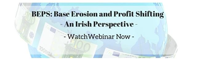 Base Erosion and Profit Shifting Webinar