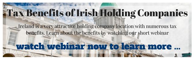 Irish Holding Companies Webinar