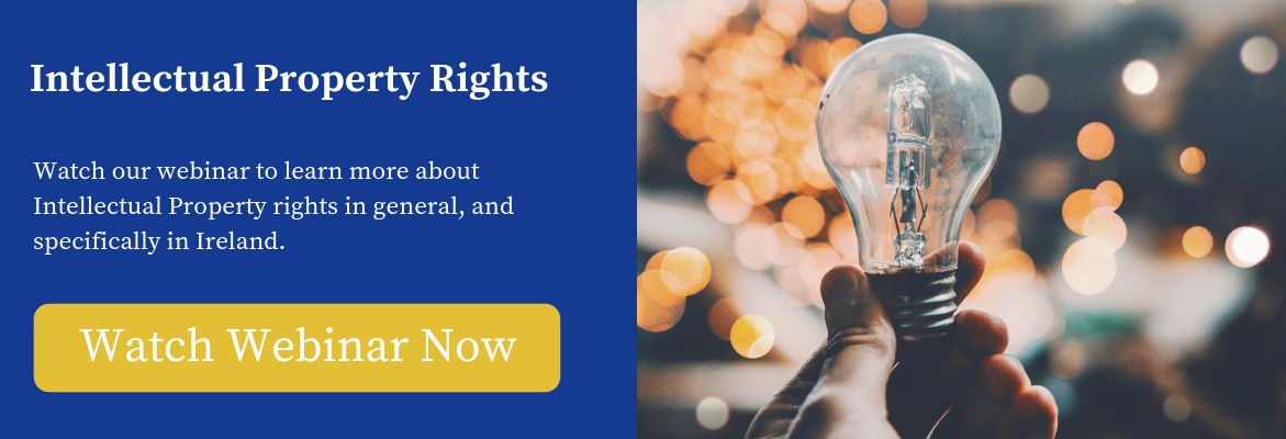 Watch webinar on Intellectual Property rights