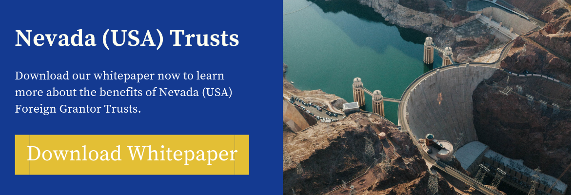 Download whitepaper on Nevada (USA) Trusts