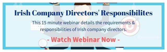 Irish Company Directors' Responsibilities Webinar