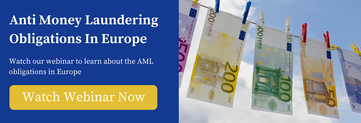 Anti Money Laundering Obligations - Webinar