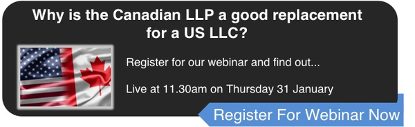 Canadian LLP as a replacement for a US LLC
