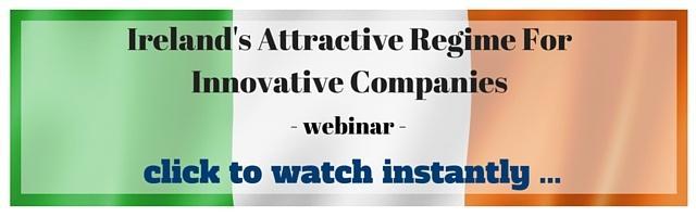 Ireland's innovative companies regime - webinar