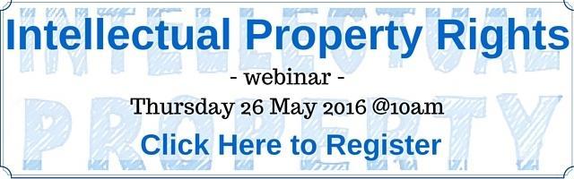 Register to Listen to an Intellectual Property Webinar