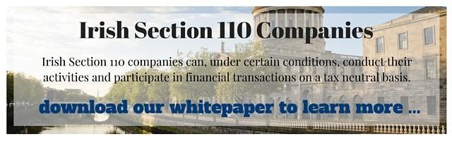 Irish Section 110 Companies - Whitepaper Download