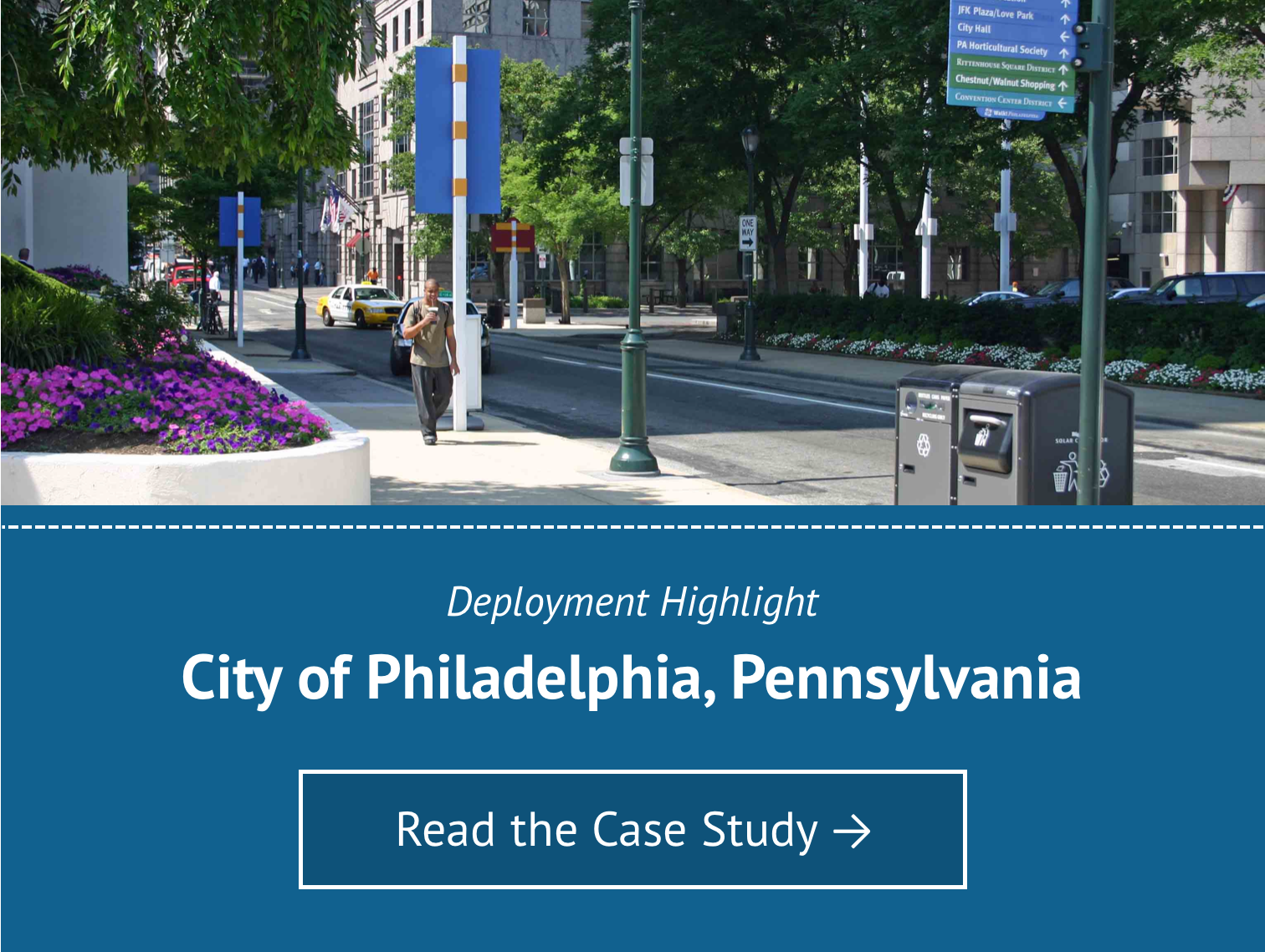 Deployment Highlight for City of Philadelphia - Read the Case Study
