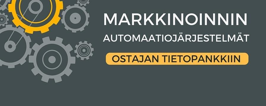 Markkinoinnin automaatiojärjestelmän hankinta