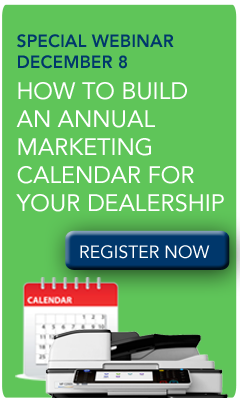 Webinar-Creating a Marketing Calendar