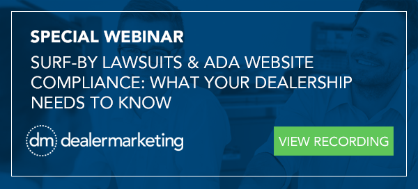 Webinar-Dealer Marketing