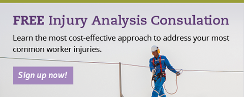 Free Injury Analysis Consultation: Learn the most cost-effective approach to address your most common worker injuries.