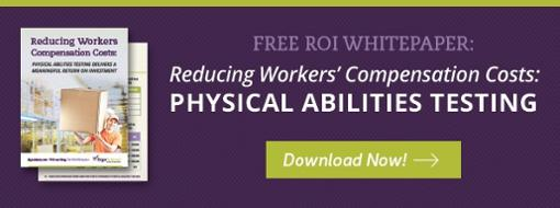 Physical Abilities Testing ROI Whitepaper