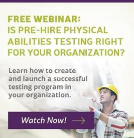 Physical Abilities Test Webinar