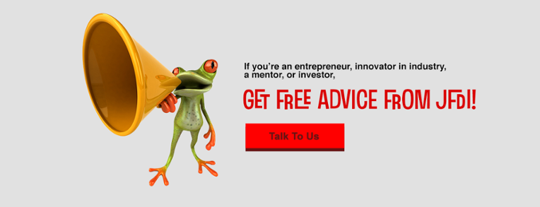 Get free advice from JFDI