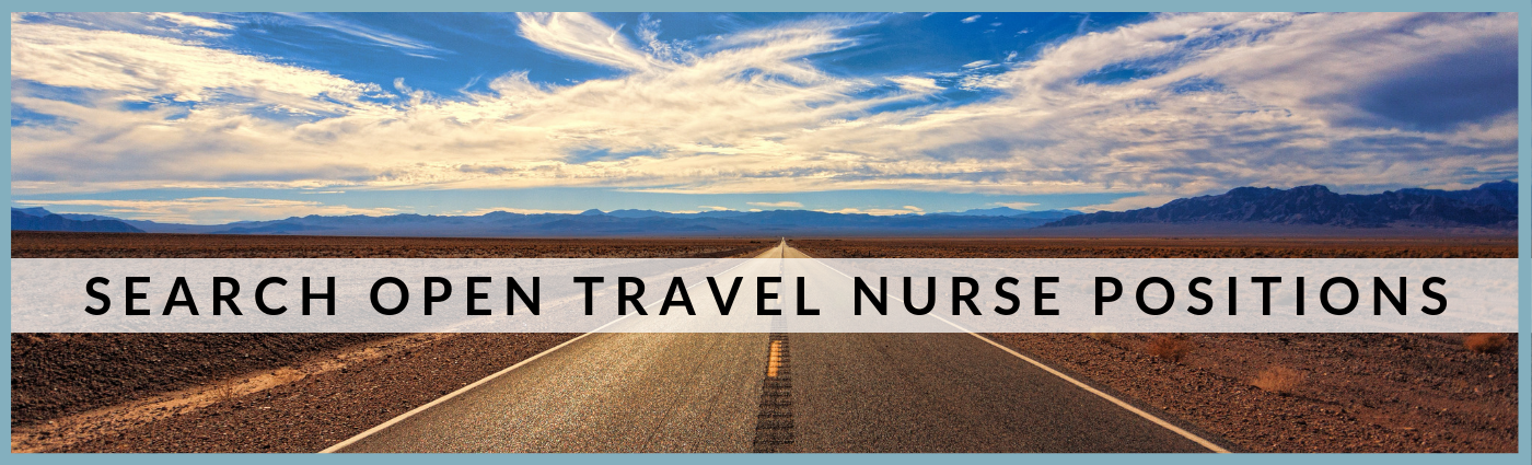 Open Travel Nurse Jobs