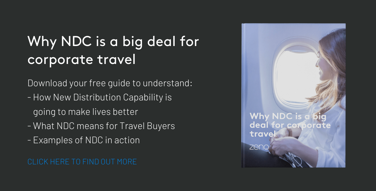 Why NDC is a big deal for corporate travel - eBook download
