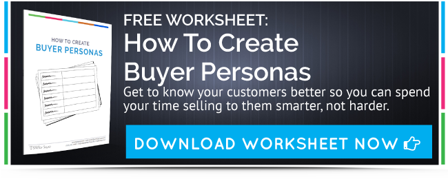 Download your free checklist on creating buyer personas.