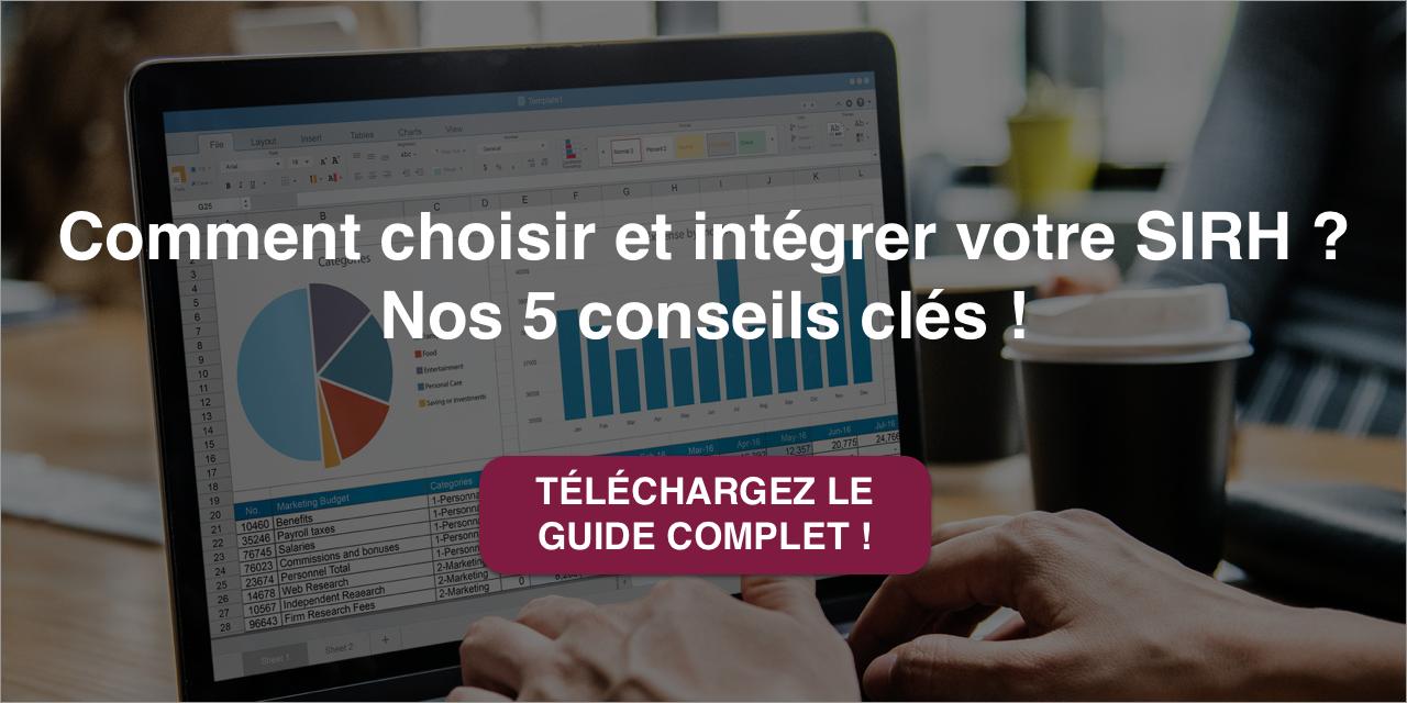 Téléchargez le guide complet pour choisir un logiciel SIRH