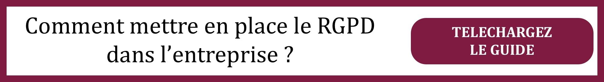 Comment se mettre en conformité avec le RGPD ?