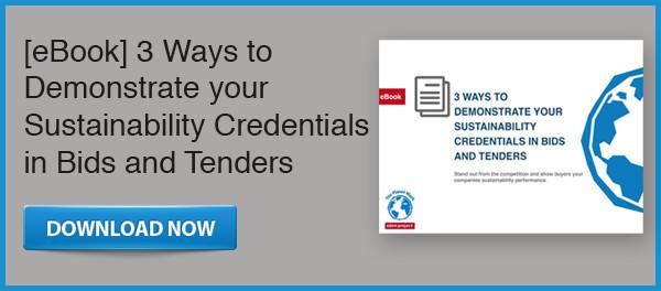 eBook - 3 Ways to demonstrate your sustainability credentials in bids and tenders