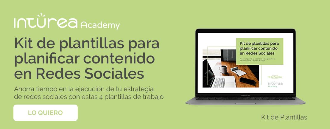 Kit de plantillas para planificar contenido en Redes Sociales