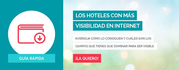 Visibilidad online - Los hoteles con mas visibilidad en Internet