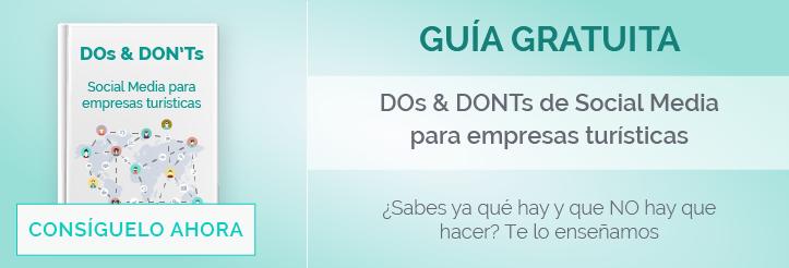 DOs & DON'Ts - Social Media para empresas turísticas - Guía gratuita