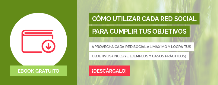 Cómo utilizar cada red social para cumplir tus objetivos, eBook gratuito - Inturea, Inbound Marketing Turístico