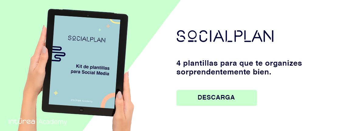 Social Plan 4 Kit Plantillas para Social Media CTA