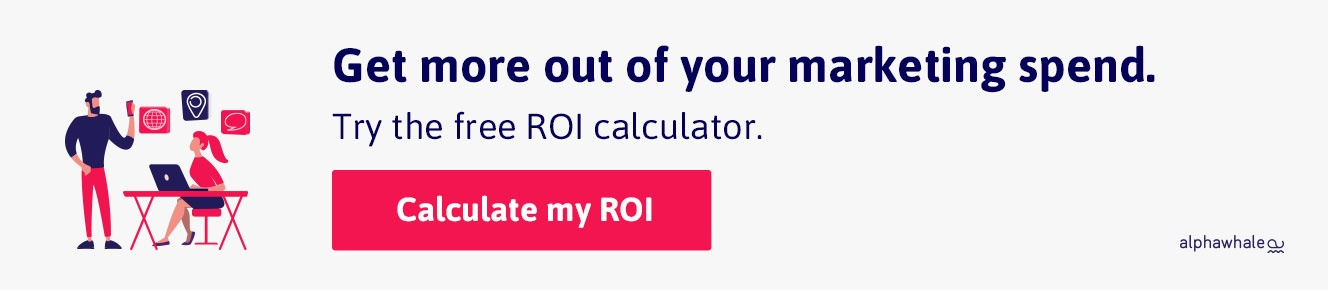 alphawhale ROI calculator