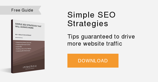 Free Whitepaper   Simple SEO Strategies  Tips guaranteed to drive more website traffic  DOWNLOAD
