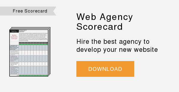 Free Scorecard   Web Developer Scorecard  Hire the best agency to develop your new website  DOWNLOAD