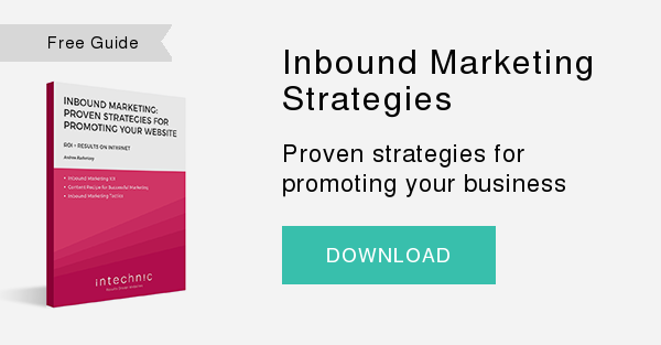 FreeGuide   Inbound Marketing Strategies  Proven strategies for promoting your business  DOWNLOAD