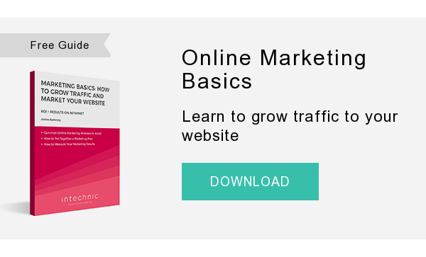 Free Guide   Online Marketing Basics  Learn to grow traffic to your website  DOWNLOAD