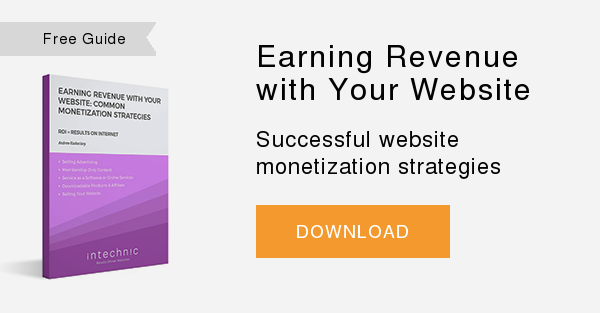 Free Whitepaper   Earning Revenue from Your Website  Successful website monetization strategies  DOWNLOAD