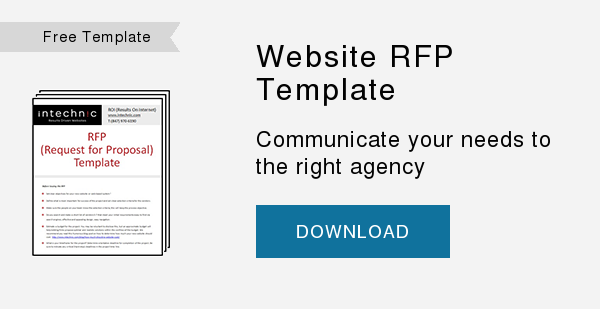 Free Template   Website RFP Template  Communicate your needs to the right agency  DOWNLOAD