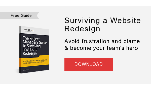 Free eBook   Surviving a Website Redesign  A complete guide for project managers  DOWNLOAD