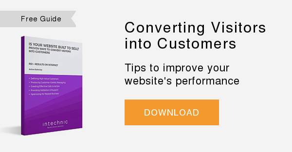 Free Whitepaper   Converting Visitors into Customers  Tips to improve your website's performance  DOWNLOAD